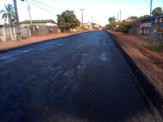 Prefeitura de Pimenta Bueno segue investindo na infraestrutura urbana