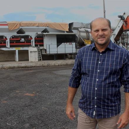 Cirone Deiró anuncia recurso e garante permanência da Usina de Asfalto em Cacoal