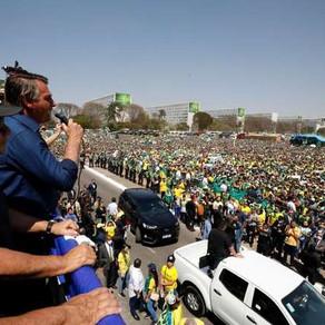 TSE decide investigar se atos com Bolsonaro no 7 de Setembro foram financiados