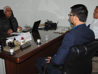 Deputado Estadual Anderson do Singeperon visita Delegado-Geral da Polícia Civil