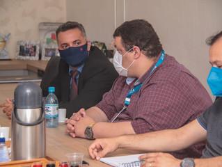 Técnicos se reúnem com prefeito e secretário para tratar  do meio ambiente e desenvolvimento