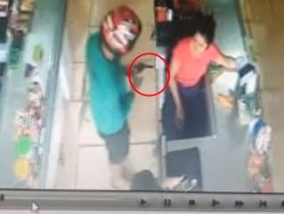 Ladrão atira após funcionária achar que assalto era brincadeira