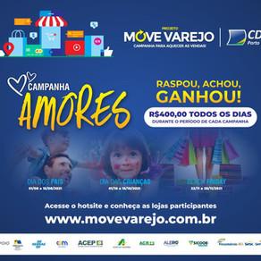 Sebrae apoia campanha Move Varejo da CDL