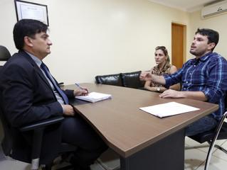 Cleiton Roque discute emendas para melhorias no município de Primavera