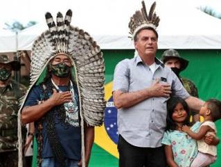 """Relatório acusa Bolsonaro de """"permitir"""" morte de indígenas em MT e outros Estados"""