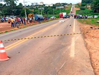 Entregador e borracheiro que morreram na colisão entre motos serão sepultados hoje em Alta Floresta