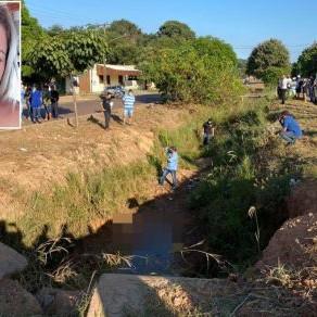 Mulher encontrada morta em vala morreu afogada, aponta Politec