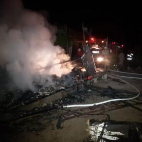 Urgente: Criança de 10 anos morre carbonizada após casa pegar fogo