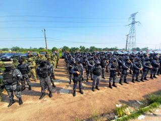 Tensão: sem-terras ameaçam invadir base de apoio da polícia em áreas de conflito agrário em Rondônia