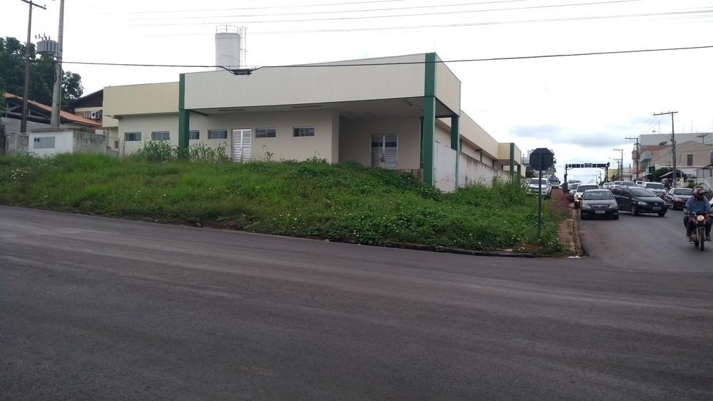 UPA de Cacoal, apesar de pronta há dois anos, está sem funcionamento (Foto: Magda Oliveira/G1)