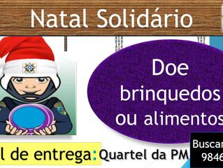 Policia Militar em Rolim lança Natal Solidário