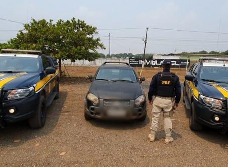 Em Ariquemes/RO, PRF recupera camionete roubada há 10 anos e prende homem por Receptação