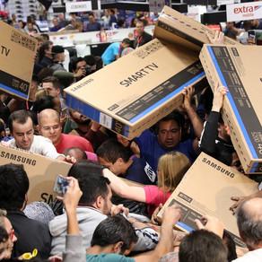 Black Friday acontece nesta sexta, e comerciantes esperam aumento das vendas