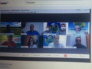 Lazinho da Fetagro participou da abertura da 3ª Semana Estadual de Agroecologia