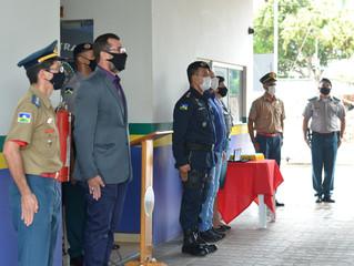 POLICIAIS MILITARES DO 4° BATALHÃO SÃO AGRACIADOS COM A MEDALHA GOVERNADOR JORGE TEIXEIRA