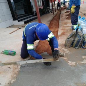 Mais obras: serviços de repavimentação nas ruas de Ariquemes seguem acontecendo mesmo no período de