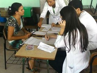Acadêmicos de Medicina da Facimed fazem atendimentos em postos de saúde e entidades de Cacoal
