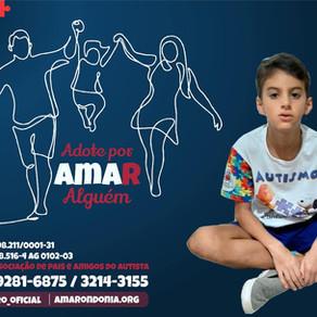 Ieda Chaves apóia campanha Adote por AMAR alguém
