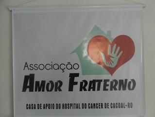 CASA DE APOIO AMOR FRATERNO –  O SER HUMANO EM PRIMEIRO LUGAR