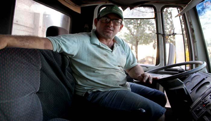 Sidnei Milhoransa afirma que os produtores não terão problemas com o morro