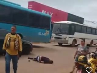 Assaltante é baleado durante fuga e comparsa atropelado