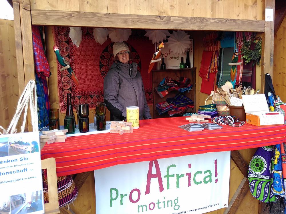 Promoting Africa e.V. auf dem Christkindlmarkt in Herrsching