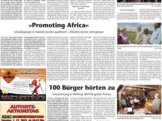 Artikel zu Promoting Africa - Kreisbote Starnberg