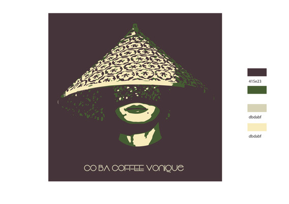 Co Ba Coffee Logo & Color