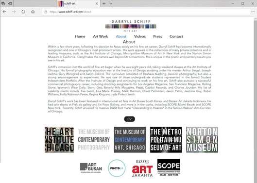 DSFA Web Design (Desktop ver)