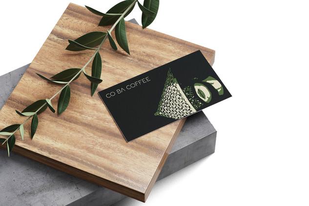 Co Ba Business Card