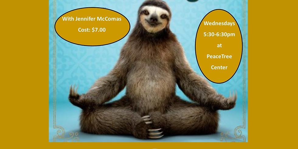 Sloth Yoga
