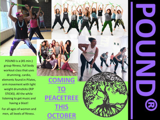 POUND! Dance and Workout Class!