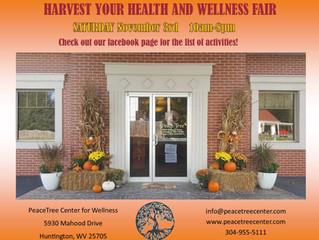 Harvest Your Health and Wellness Fair!