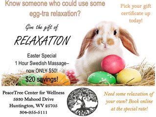 Easter Massage Special!