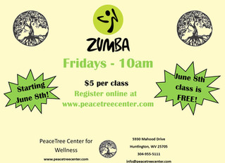 Zumba! Coming Soon to Peacetree!
