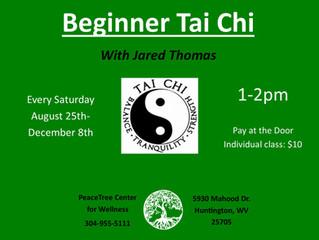 Beginner Tai Chi starting soon!