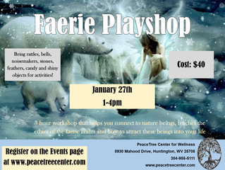 New Faerie Playshop!