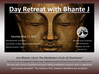 Silent Retreat with Bhante J!