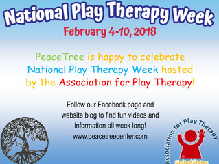 National Play Therapy Week!
