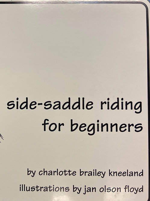 Side-Saddle Riding for Beginners shipped within Continental USA