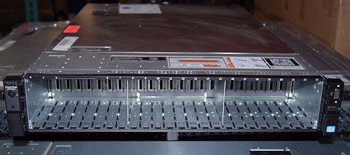 Dell PowerEdge R720XD 2U Server Chassis Only (See photos, read description)
