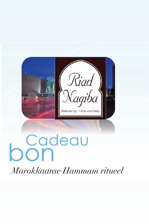 Cadeau Bon Marokkaanse Hammam Ritueel