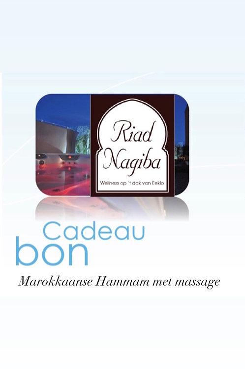Cadeau Bon Marokkaanse hammam ritueel met massage