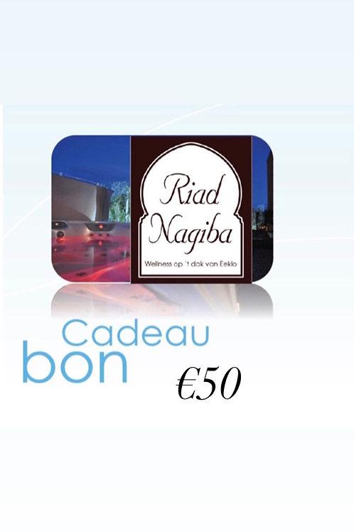 Cadeau Bon €50