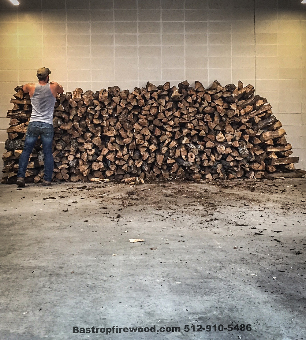 Always have your firewood stacked.