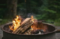 Post Oak Burning