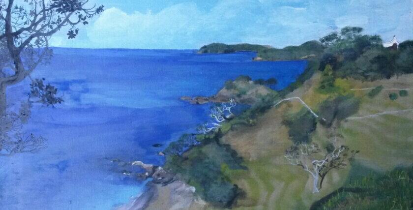 Overlooking Daisy Bay