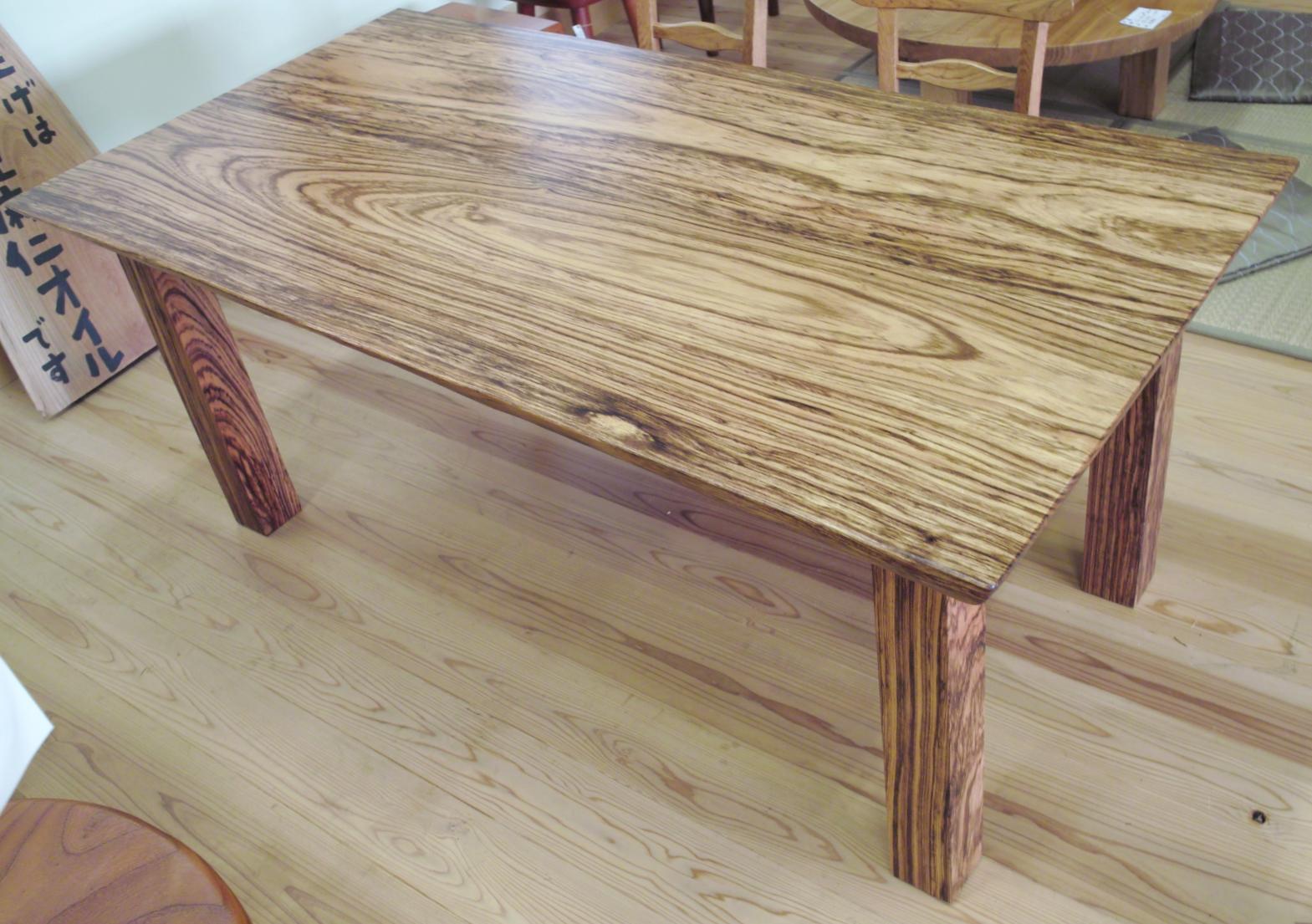 ベリのテーブル