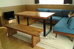 ベリのテーブル&ベンチ