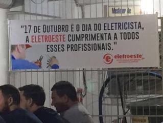 """Confraternização Dia do Eletricista e Lançamento """"Protetor de Média Tensão"""""""